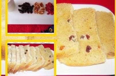 Pan con Yogur de kéfir y Bayas del Goji