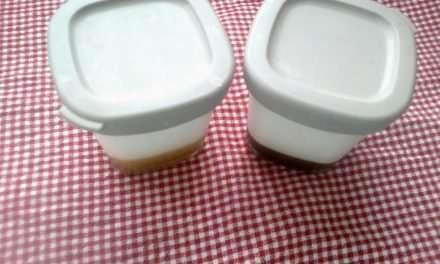 Yogurt de Kéfir con Mermelada de Melocotón y Mermelada de Fresa