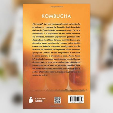 Comprar libro Kombucha: Los secretos de esta bebida fermentada probiótica