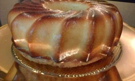 Bizcocho de Patatas y yogurt de Kéfir sin gluten