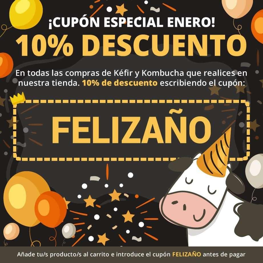 Cupón de descuento 10% - Mes de Enero