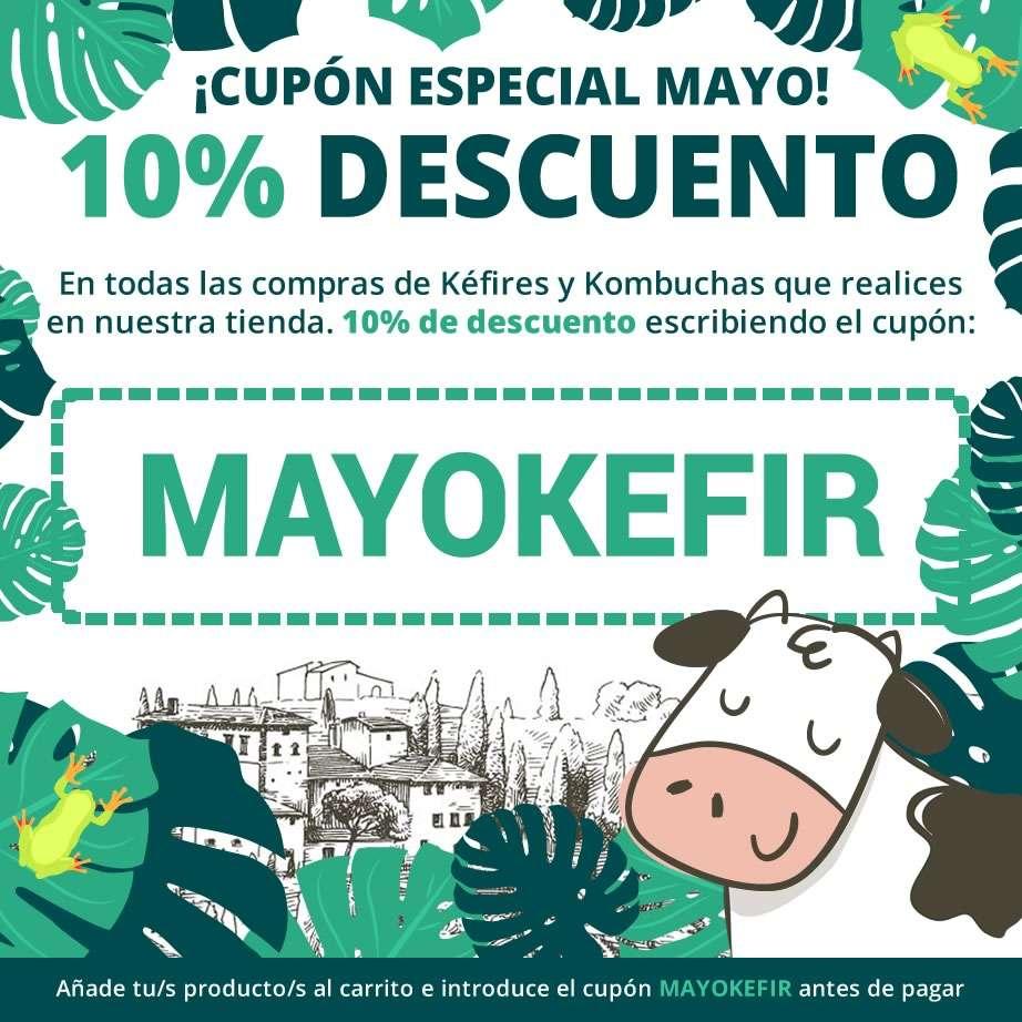 Cupón de descuento 10% - Mes de Mayo