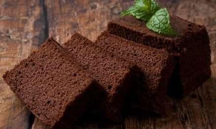 Bizcocho de kéfir y chocolate