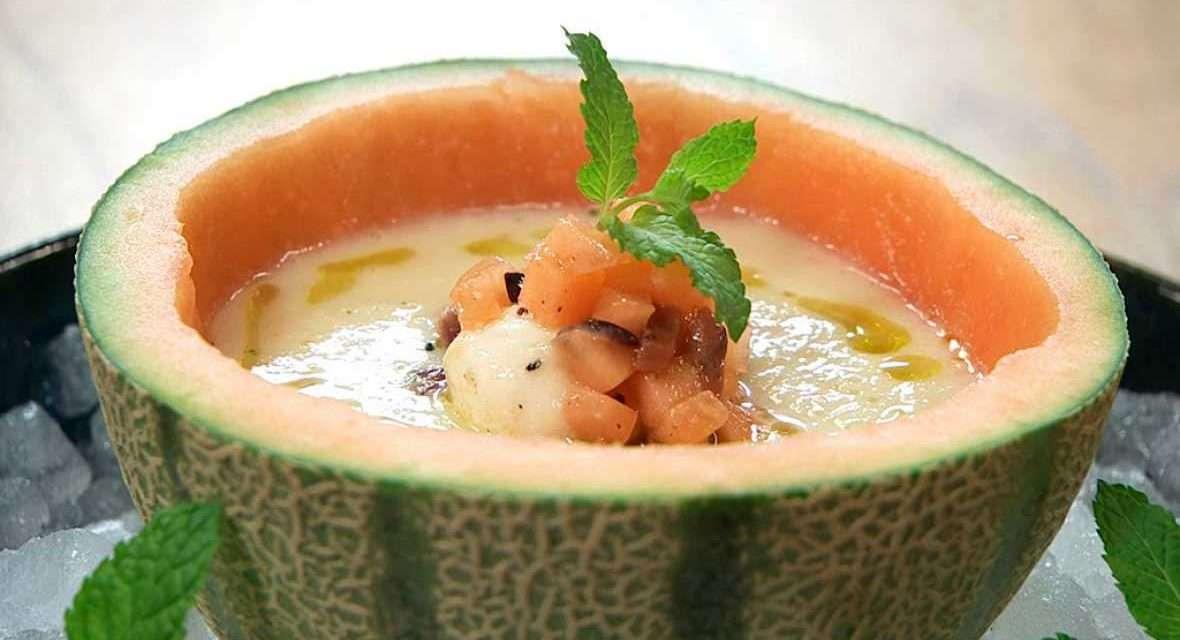 Sopa de melón con Kéfir