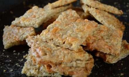 Receta de galletas de avena y queso