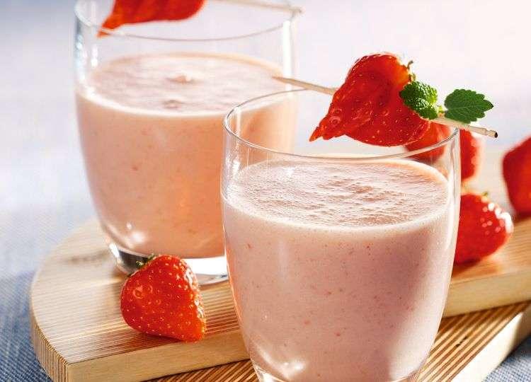 Un desayuno saludable: Kéfir y frutas