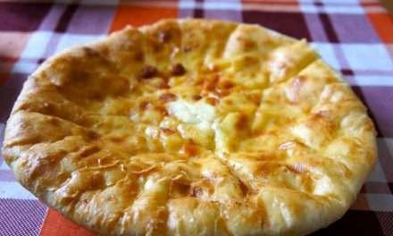 Hachapuri – tortas de georgia rellenas de queso