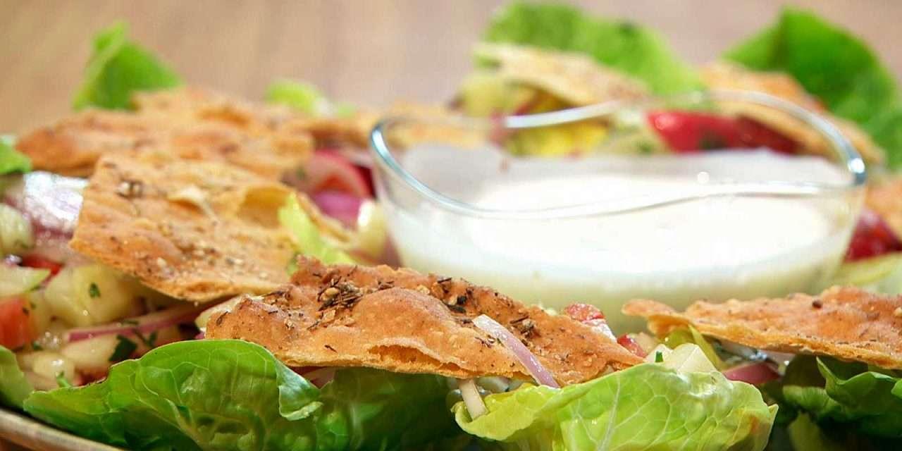 Receta de Ensalada 'crunchy'