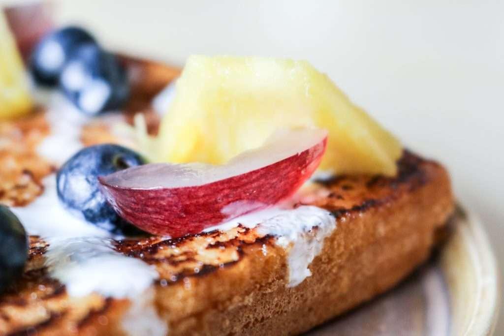 """""""French Toast"""" de Kéfir de Leche"""