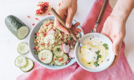 Ensalada de Quinoa y Kéfir de Leche