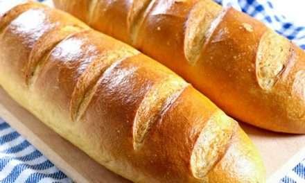 Receta de pan casero «Batón»