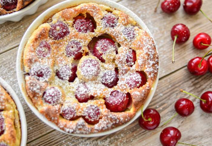 Receta de Tarta de kéfir con cerezas