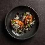 Receta de Halloween: Calabaza, kombucha y queso azul