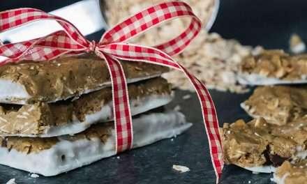 Barrita energética de manteca de cacahuete y Kéfir