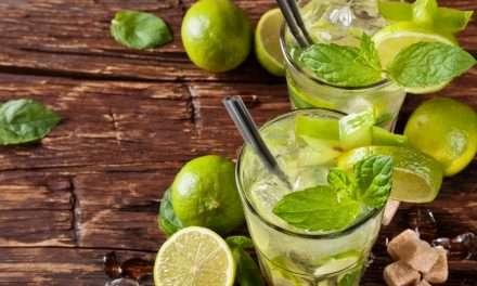 2 cócteles con Kombucha, healthy y sin alcohol