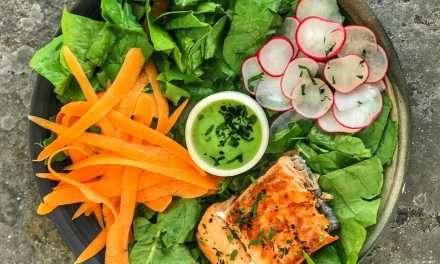 Aderezo probiótico de Kéfir para ensaladas