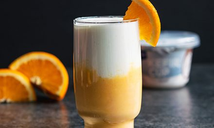 Batido de Crema de Naranja y Kéfir