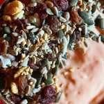 Receta de Bol helado de kéfir y papaya