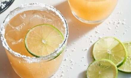 Cóctel Margarita asiática con Kombucha