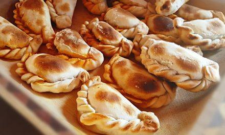Empanadas de pollo, setas y Kéfir