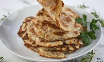 Receta de Tortillas de Kéfir (sin gluten)