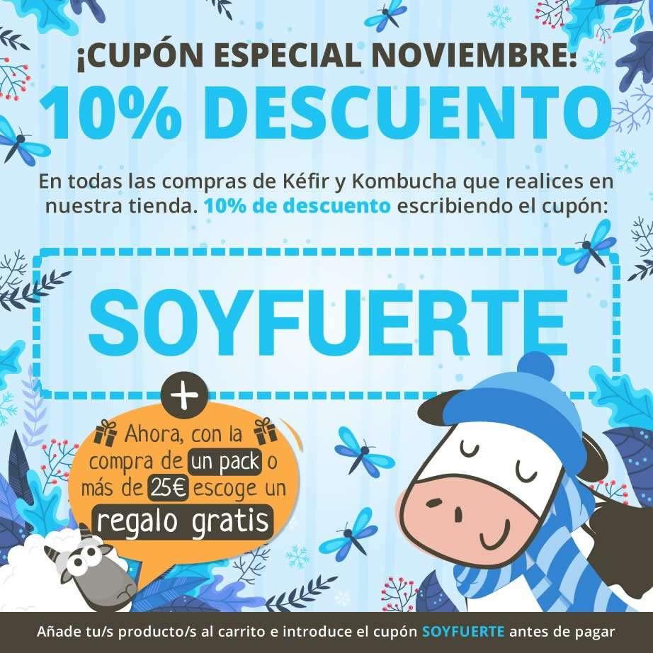 Cupón de descuento 10% - Mes de Noviembre