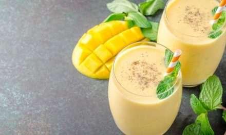 Receta de Lassi de mango y Kéfir