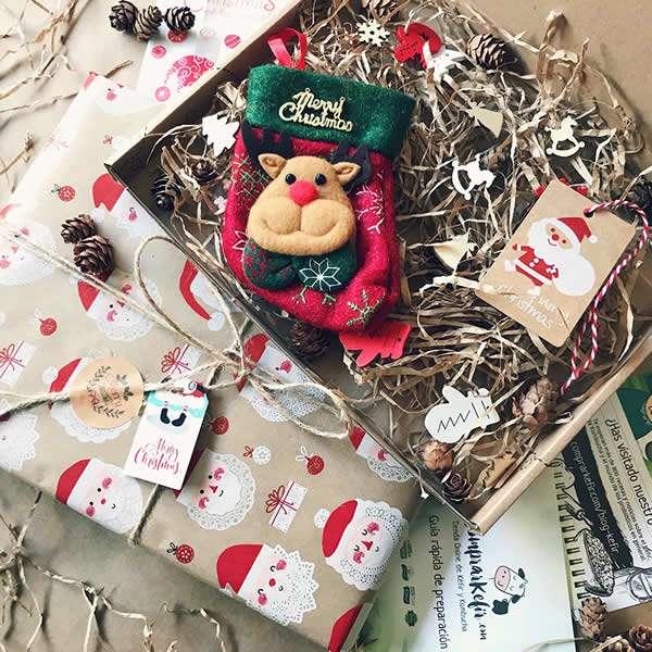 Regalar Kéfir para Navidad - Comprar caja regalo de Kéfir