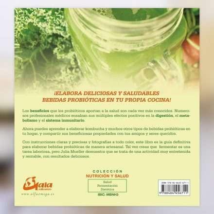 Comprar libro Bebidas probióticas