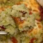 Soufflé de brócoli y kéfir
