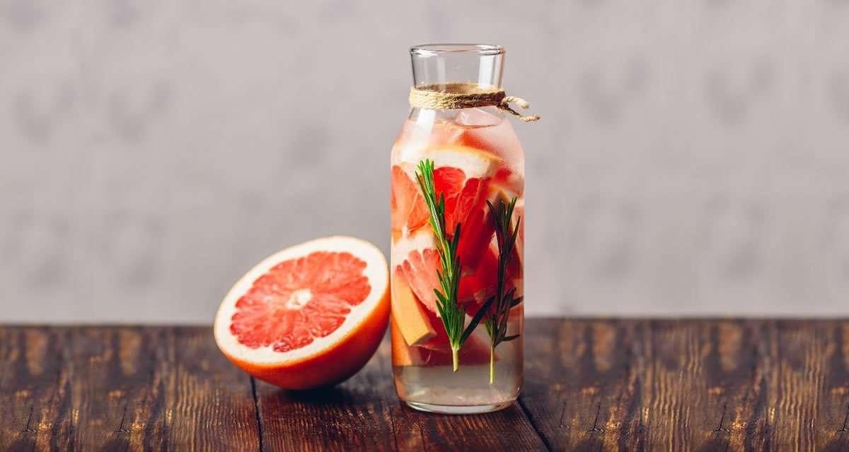 'Mocktail' de pomelo y kombucha