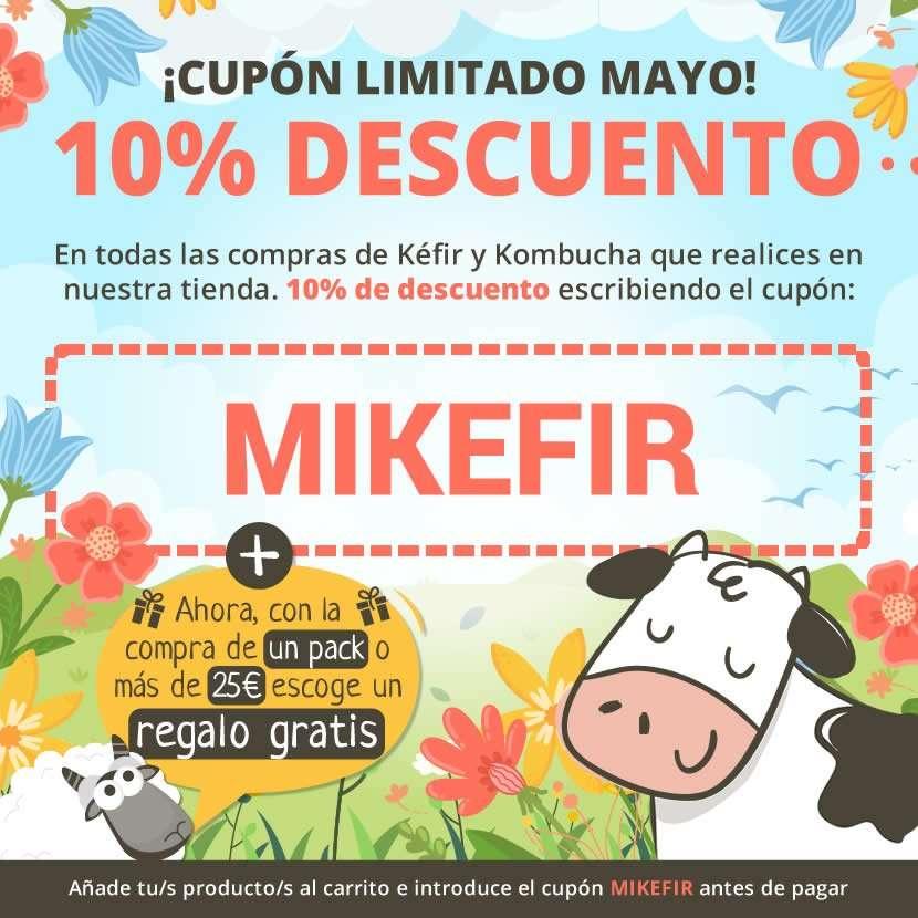 Cupón 10% limitado - Mes de Mayo
