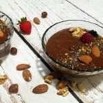 Crema de mango, cacao y Kéfir