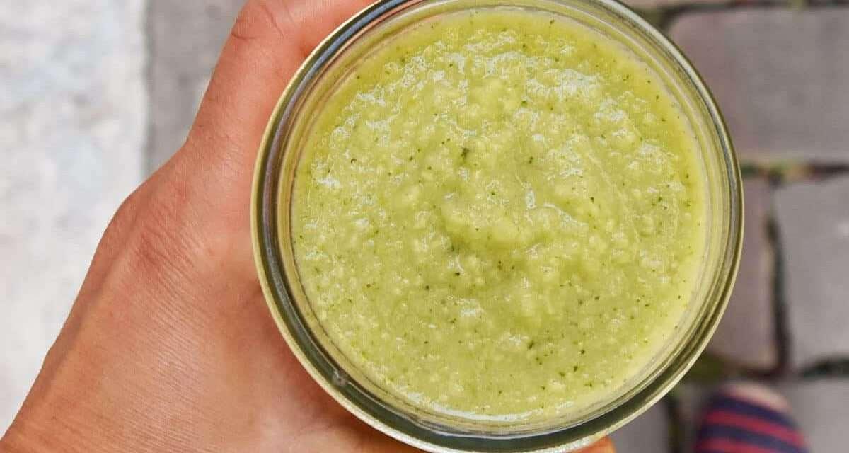 Batido verde probiótico con kombucha