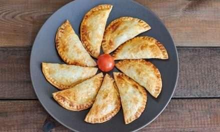 Empanadillas de carne y Kéfir