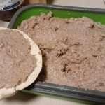 Paté vegano de garbanzo con scoby de Kombucha
